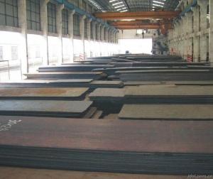 钢板存放区